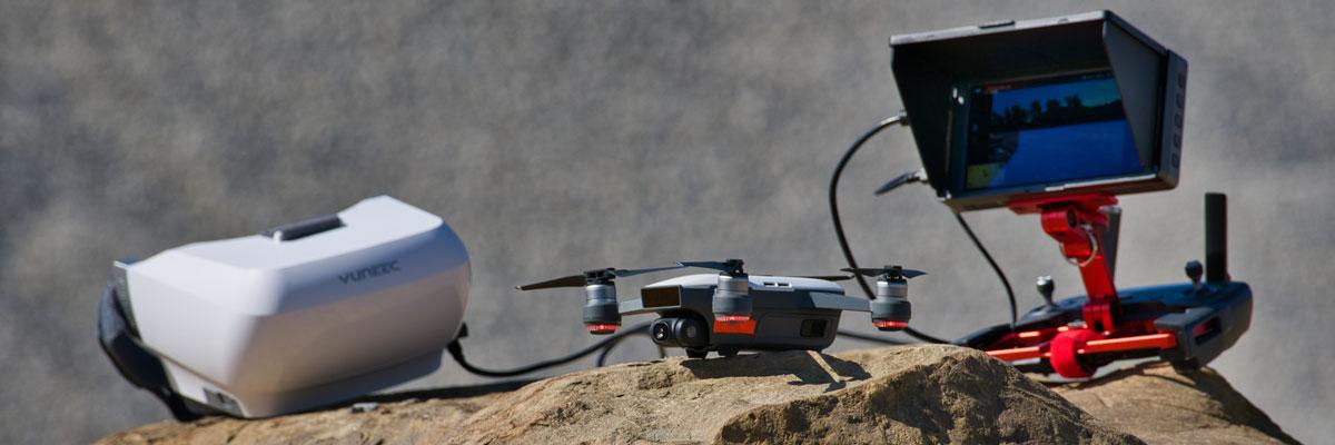 Einsatzmittel für die Drohnenausbildung - Drohnen Training