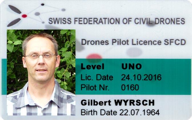 Drohnenpilot & Leiter Drohnenkurse