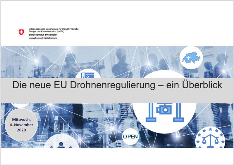 Die neue EU Drohnenregulierung - ein Überblick