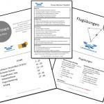 Schulungsunterlagen für die Drohnenkurse / Drohnenausbildung